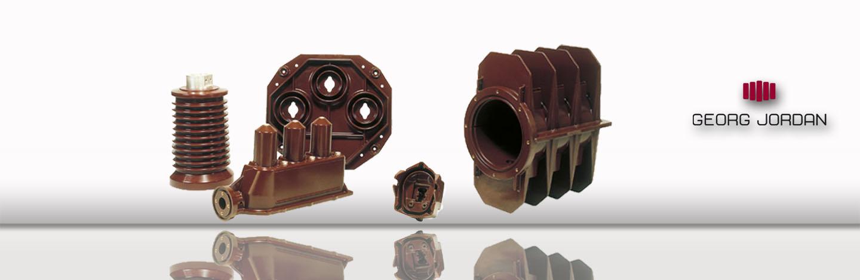 Epoxidgießharz-Isoliergehäuse | Epoxy Insulating Components - Georg Jordan GmbH